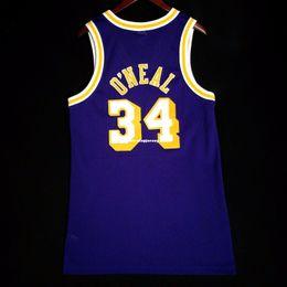 100% costurado Shaquille O'Neal atacado Jersey - kobe Shaq Oneal Mens colete tamanho XS-6XL costurado basquete Jerseys Ncaa venda por atacado