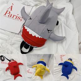 $enCountryForm.capitalKeyWord Australia - Free DHL Kindergarten Toddlers Anti-Lost Backpack Girls Boys 4 Styles Cute School Bags Cartoon Shoulder Bags Kids Baby Shark Backpacks M191F