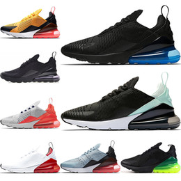 Tiger brown online shopping - 270 Women Men Running Shoes Cushion Triple Black White Tiger Photo Blue C Mens Sneakers Athletics Trainers Designer Shoes US5