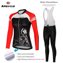 winter cycling tights Australia - New Bicycle Women's Team Bicycle Mountain bike jersey Competition piece jersey long tight Winter Fleece cycling skinsuit ciclismo speedwear