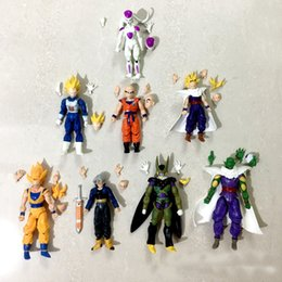 $enCountryForm.capitalKeyWord Australia - Hot New Amine Dragon Ball Z 12-14cm Freeza Piccolo Vegeta Trunks Son Gohan Kuririn 8pcs set PVC Action Figures