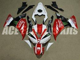 $enCountryForm.capitalKeyWord Canada - Good quality New ABS motorcycle fairings fit for YAMAHA YZF-R1 2009 2010 2011 2012 R1 09 10 11 12 YZF1000 fairing kits custom red white 2