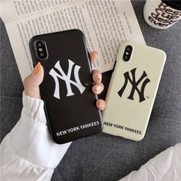 $enCountryForm.capitalKeyWord Australia - New Arrival NY Back Phone case for Apple iPhone XS Max XR 8 7 6 Plus Hybrid Shockproof Bumper Couque for Sports fans DHL Free