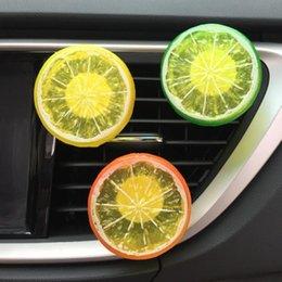 Refresh Car Australia - Car-styling AUTO Car Home Lemon Refresh Air Outlet Fragrant Perfume Clip Air Freshener Diffuser HOT