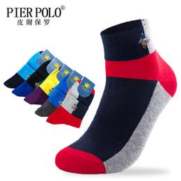 $enCountryForm.capitalKeyWord Australia - Pier Polo High Quality Casual Men's Business Socks For Men Cotton Brand Crew Autumn Ankel Socks Meias Homens 5 Pairs Big Size MX190719