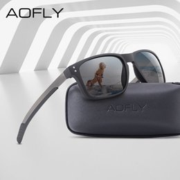 flexible sunglasses Australia - AOFLY BRAND DESIGN Classic Polarized Sunglasses Men Mirror Drive Sunglasses Male TR90 Flexible Frame Eyewear Female Gafas UV400 CX200704