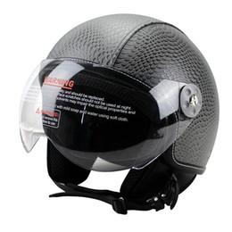 Pilot motorcycle helmets online shopping - Retro Cruiser Motorcycle Helmet Chopper Open Face Vintage Helmet Z Moto Casque Casco motocicleta Capacete Pilot helmets