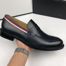 Real Fur Shoes Australia - Top Quality Star shape Style Dress Shoes for Men real leather cut-outs wedding party shoes for man with box size 38-46 2 colors