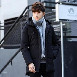 $enCountryForm.capitalKeyWord Australia - Fashion Warm Men Winter Down Coat Slim Fit Simple Street Hooded Outerwear Zipper Warm Jackets