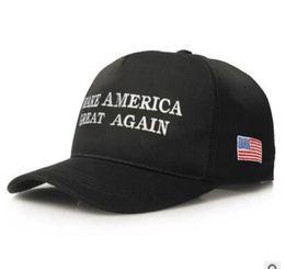 $enCountryForm.capitalKeyWord Australia - 10pcs lot creative style Make America Great Again Hat woman man casual letter baseball cap nylon fastener tape