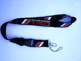 $enCountryForm.capitalKeyWord Australia - JDM TRD Racing Drift Lanyard Neck Cell Phone Key Chain Strap Quick Release 10pcs