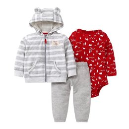 5ea7512bf1a4 fashional Lovely Girls Fleece Winter Hooded Coat Kids Rompers Pants Jacket  Hoodies Suits 12M Children Jumpsuits Baby Girls Pants
