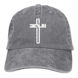 Cross Hats Women UK - 2019 New Cheap Baseball Caps Print Hat High Jesus  Cross Mens 176502c0c359