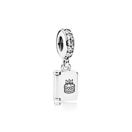 wish coin UK - NEW 100% 925 Sterling Silver 1:1 791723CZ Birthday Wishes Card Original Women Wedding Fashion Jewelry Gift