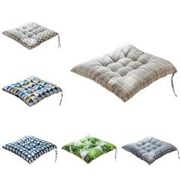 $enCountryForm.capitalKeyWord Australia - 45x45cm Home Seat Cushion Pad Office Bar Chair Back Seat Pure Color Cushions Sofa Pillow Buttocks Chair Cushion