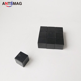 Water Proof Coatings Australia - Plastic Coated N52 Neodymium Cube Magnets 15x15X15MM, 10 Pack Permanent Water Proof DIY Magnets