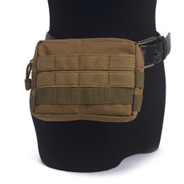 green handbags Australia - Tactical Molle Waist Bag Wallet Pouch Purse Accessory EDC Outdoor Sport Waist Pack Handbags Camping Hiking Phone Bag