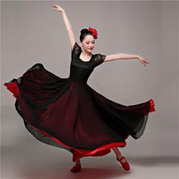 b7233de92f26 Swing Dance Dress Women Australia - Spanish Belly Dance Costumes Flamenco  Skirt for Dancing Bullfight Festival