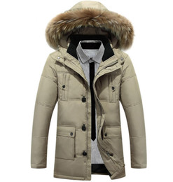 $enCountryForm.capitalKeyWord Australia - 2019 New Men's Winter Jacket Keep Warm Goose Down Coats Parka Soft shell fur collar Hats Thicken outdoor outerwear Designer jackets