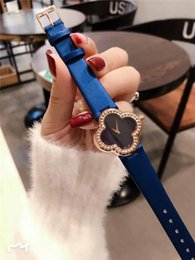 ladies digital watch leather strap Canada - 2020 30mm cow leather strap quartz movement Wristwatches fashion lady watch luxury womens designer watches best gift montre de luxe