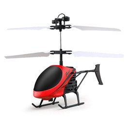 Wholesale Hot Flying Mini RC Infraed Induction Helicopter Aircraft Flashing Light Cool and fun Toys For Kids FEB19 P35