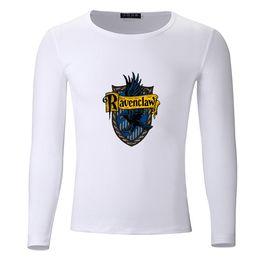 5153bad05 Ravenclaw Big Size Students Spring Autumn T-Shirt Long Sleeve Men Women Boys  Girls T Shirt Tees Kids Tshirt