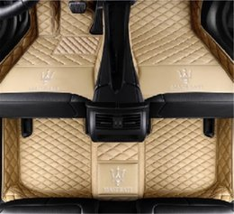 $enCountryForm.capitalKeyWord NZ - Custom Fit All Weather 3D Covered XPE- Leather Car Carpet FloorLiner Floor Mats for Maserati Quattroporte S Q4 5 seats 2013-2017