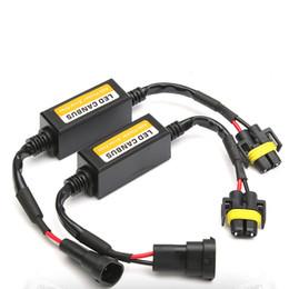 Wholesale LED car headlight Anti-Flicker Error Free LED canbus h1 h4 h7 h11 9006 9012 9006 Decoder for car led headlight free shipping