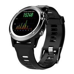 "wifi smart watch 3g Canada - H1 GPS Smart Watch BT 4.0 WIFI Smart Wristwatch IP68 Waterproof 1.39"" OLED MTK6572 3G LTE SIM Wearable Device Watch For iPhone Android iOS"