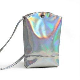 7a0f248f696d Cheap Women Handbag Fashion Laser Hologram Bag Wallet Purse PU Coin Cell  Phone Mini Flap Cross-body Shoulder Bags Cool Reflective Bag