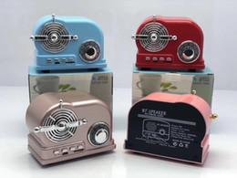 $enCountryForm.capitalKeyWord Australia - BT-03 HiFi Retro Wireless Bluetooth Speaker Radio BT03 Cute Mini Bass V4.2 TF Card Interface Bluetooth 110PCS LOT