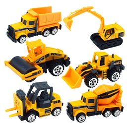 $enCountryForm.capitalKeyWord Australia - 1PC Mini Engineering Car Model Tractor Toy Dump Truck Model Classic Toy Car Children Kids Toys Engineering Vehicle Gift For Boys