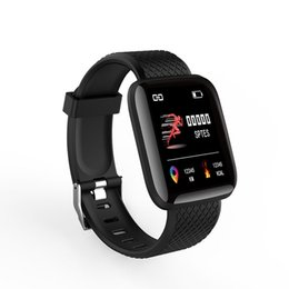 $enCountryForm.capitalKeyWord Australia - 116 Plus Men Women Smart watch Blood Pressure Fitness Tracker Heart Rate Monitor Pedometer Smart Band PK 115 PLUS for iphone Android