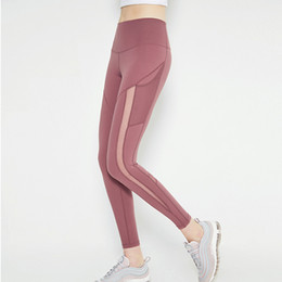 Wholesale lifting leggings resale online - 2019 Yoga leggings for Yoga practice Hip Lift Tummy Control Active wear for Yoga Working Casual Wear
