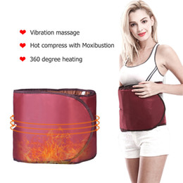 360 Degree Electric Far Infrared Heating Slimming Detox Waist Belt Beauty Fitness Device Braces Supports Slimming Belt on Sale