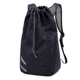 $enCountryForm.capitalKeyWord Australia - NIBESSER Men Large Basketball Backpack School Bags For Balls Soccer Drawstring Mash Pack Fitness Bucket Bag Outdoor Sports bag