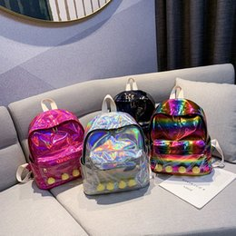 $enCountryForm.capitalKeyWord Australia - fashion laser backpack with toys for children kids school bags creative design women backpack shoulder bags