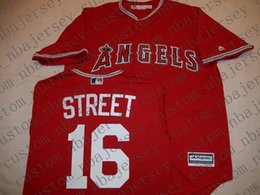$enCountryForm.capitalKeyWord Australia - Cheap Custom Anaheim HUSTON STREET Baseball jerseys Stitched Retro Mens jerseys Customize any name number MEN WOMEN YOUTH XS-5XL