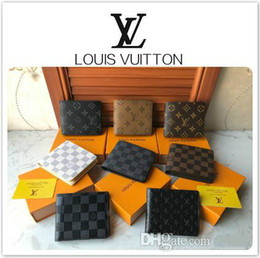 Wholesale 22Louis vuitton Designer Wallet High Quality Mans Wallet Holders Classic Brand Wallet Gifts For Men Women Designer Clutch Bags