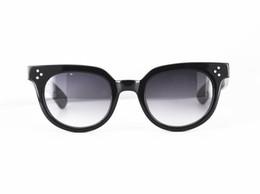 $enCountryForm.capitalKeyWord Australia - NEW ARRIVAL accustomized retro-vintage Johnny Depp sunglasses UV400 gradient gray&brown sunglasses unisex 48-22-145 plank seven-teeth temple