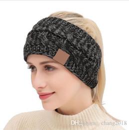 $enCountryForm.capitalKeyWord Australia - Knitted Headband Adults Man Woman Sport Winter Warm Beanies Hair Accessories Boho Yoga Headbands Fascinator Hat Ear Head Dress Headpieces