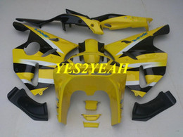 $enCountryForm.capitalKeyWord UK - Fairing body kit for KAWASAKI Ninja ZX6R 636 94 95 96 97 ZX 6R 1994 1997 Yellow black Fairings bodywork+Gifts KS04