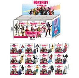 Опт Кукла Fortnite игрушки Новые дети 15см 4.5 'Мультипликационная игра Роль скелета лаки Фортнит Игрушка-фигура Включая розничную упаковку