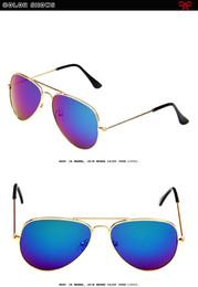 Горячая мода 3025 классические детские солнцезащитные очки Мода цветной фильм Меркурий очки пилот солнцезащитные очки wcw492