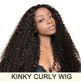 $enCountryForm.capitalKeyWord Australia - raw virgin indian hair 360 full lace human hair wigs kinky curly human hair wig for bleck women afro kinky curly wig