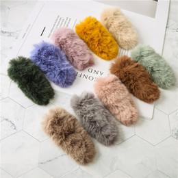 Hair Color Edges Australia - Creative New Korean Version Tide Autumn And Winter Hair Clip Edge Clip Girls Candy Color U Shape Hair Accessories Hair Card