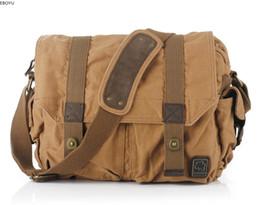 Vintage dslr camera bag online shopping - EBOYU Vintage Canvas Fashion Casual Handbag Bag Men Camera Dslr Shoulder Messenger Bag