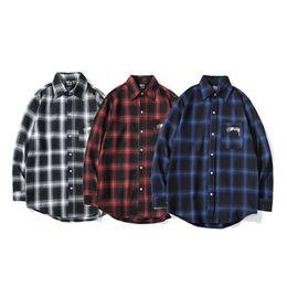 $enCountryForm.capitalKeyWord Australia - Stussy Luxury Mens Designer Casual Shirts Fashion Men Summer Shirts High Quality Men Women Polos Size M-2XL
