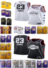 Men 23 James Lakers Jersey 2019 City Los Angeles James Lakers jerseys 2  Lonzo LeBron Ball 0 Kuzma 14 Brandon Kyle Ingram 65e6c5881
