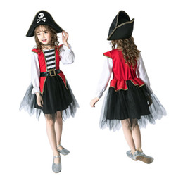 China 8 styles Girl purple fairy pirate witch Cinderella princess dress costumes cosplay kids performance clothes party dress clothing A165 supplier cinderella brand girls dresses suppliers